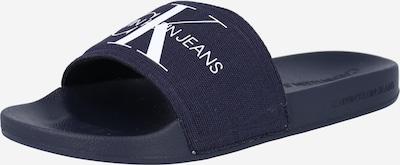 Calvin Klein Jeans Natikače u tamno plava / bijela, Pregled proizvoda