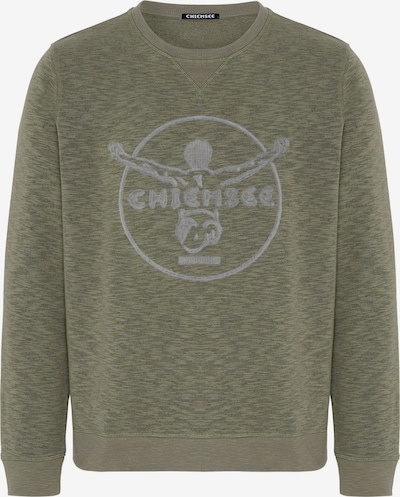 CHIEMSEE Sportsweatshirt 'SHISPARE' in de kleur Olijfgroen, Productweergave