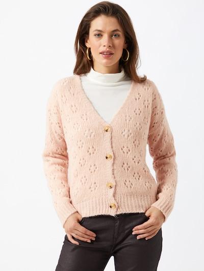 Hailys Strickjacke 'Maxie' in rosé, Modelansicht