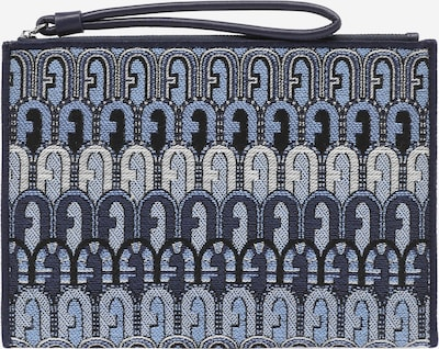 FURLA Clutch 'OPPORTUNITY' in kitt / navy / hellblau / schwarz, Produktansicht