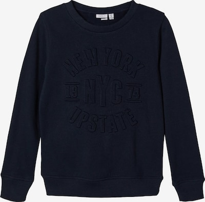 NAME IT Sweatshirt in dunkelblau: Frontalansicht