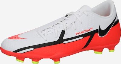 NIKE Voetbalschoen 'Phantom' in de kleur Koraal / Zwart / Wit, Productweergave