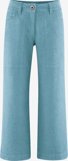 HempAge Hose ' Pants High Rise ' in türkis, Produktansicht