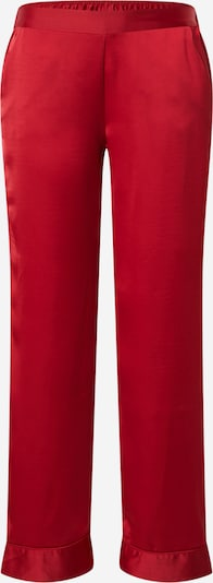 ETAM Pantalon de pyjama 'CATWALK' en rouge, Vue avec produit