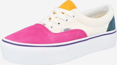 VANS Låg sneaker 'UA Era Platform' i petrol / orange / rosa / vit, Produktvy