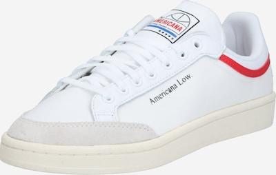 ADIDAS ORIGINALS Schuh  'Americana' in beige / rot / weiß, Produktansicht