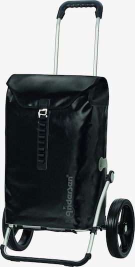 Andersen Shopper Einkaufstrolley in schwarz, Produktansicht
