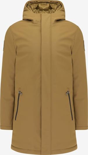 MO Winterjas in de kleur Oker, Productweergave