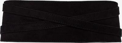 zero Taillengürtel in schwarz, Produktansicht