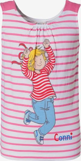 Conni Top in pink / weiß, Produktansicht
