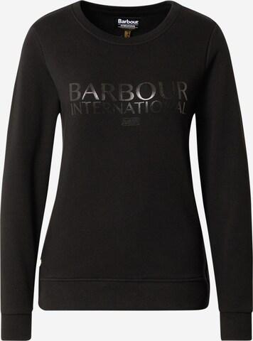 Barbour International Mikina - Čierna