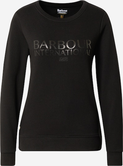 Barbour International Sweatshirt in schwarz, Produktansicht