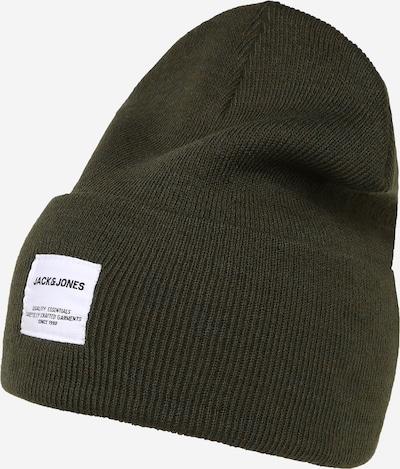 JACK & JONES Mütze in dunkelbraun, Produktansicht