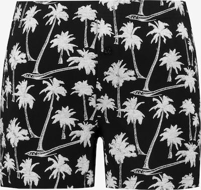 JP1880 Boxershorts in schwarz / weiß, Produktansicht