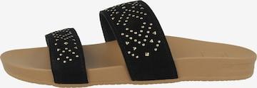 REEF Sandale ' Cushion Bounce Vista Studs ' in Schwarz