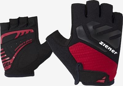 ZIENER Fahrrad-Handschuhe 'CAECILIUS' in rot, Produktansicht