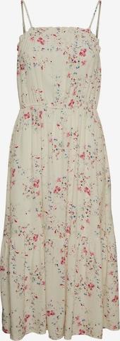 Vero Moda Petite Nyári ruhák 'Mila' - bézs