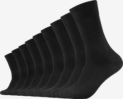 camano Socken 'Chris' 9er-Pack in schwarz, Produktansicht