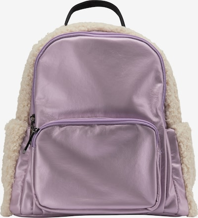 MYMO Backpack in Light purple / Black / Wool white, Item view