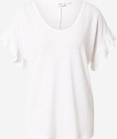 Tricou GAP pe alb amestacat, Vizualizare produs