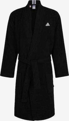 ADIDAS PERFORMANCE Athletic Robe in Black