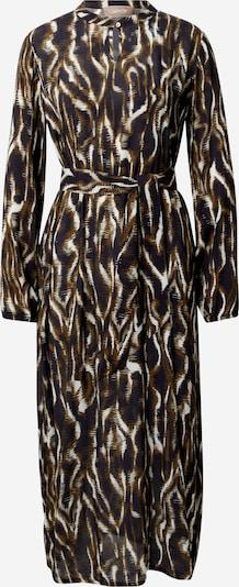 Cartoon Kleid in beige / dunkelblau / khaki, Produktansicht