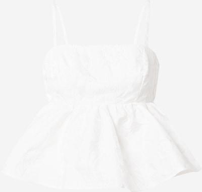 Gina Tricot Блуза 'Lizette' в мръсно бяло: Изглед отпред