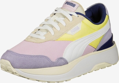 PUMA Sneakers low 'Cruise Rider Silk Road' in light yellow / light purple / pink / powder / white, Item view