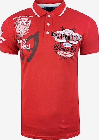 Rusty Neal Poloshirt in Rot