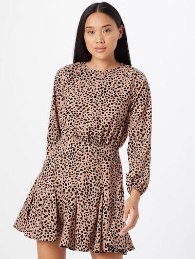AX Paris Kleid in de kleur Perzik / Zwart, Modelweergave