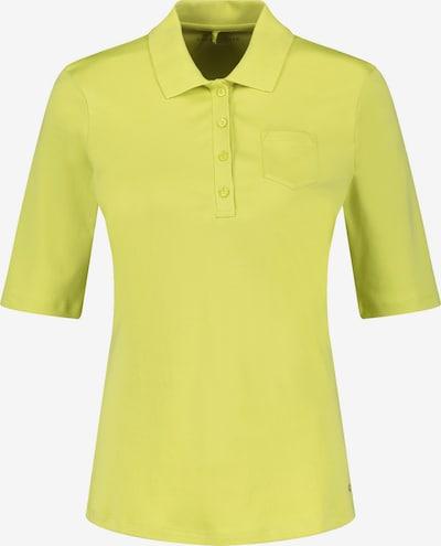 GERRY WEBER Poloshirt in gelb, Produktansicht