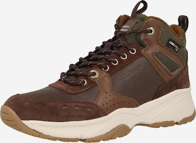 TOMMY HILFIGER Sneaker in braun / khaki, Produktansicht