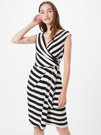 Lauren Ralph Lauren Kleid 'SAIDA' in schwarz / weiß, Modelansicht