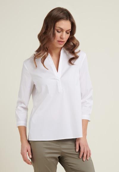DANIEL HECHTER Bluse in weiß, Modelansicht
