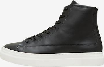 Sneaker alta 'David' di SELECTED HOMME in nero