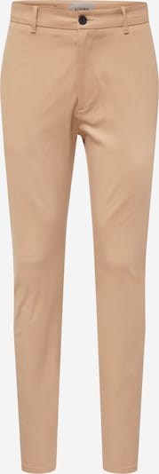Pantaloni eleganți 'Crimson ' elvine pe bej, Vizualizare produs