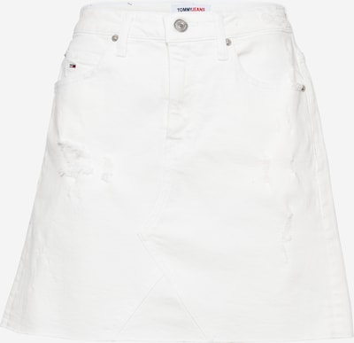 Tommy Jeans Rok in de kleur White denim, Productweergave