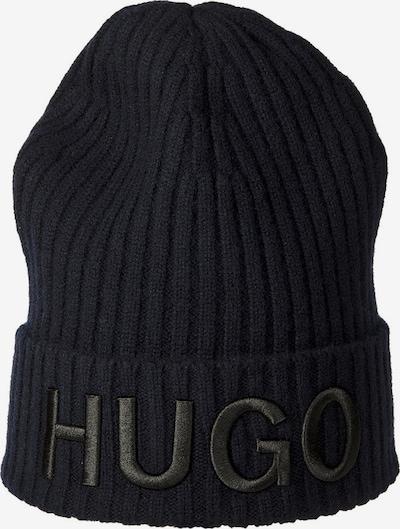 HUGO Bonnet en bleu, Vue avec produit