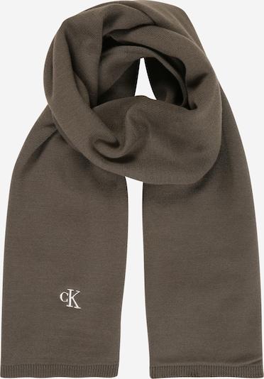 Calvin Klein Jeans Šal | temno rjava barva, Prikaz izdelka