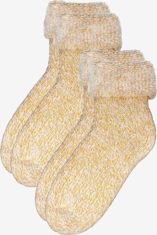 ROGO Socken in Gelb
