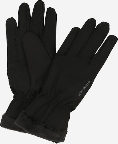 ICEPEAK Prstové rukavice 'Hanau' - čierna, Produkt