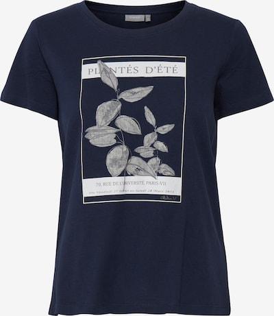 Fransa T-Shirt 'FRAMPLANT' in blau, Produktansicht