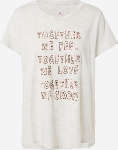 LIEBLINGSSTÜCK Shirt 'Dina' in de kleur Sand / Bruin, Productweergave