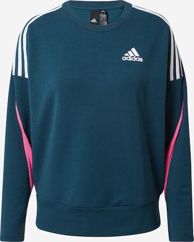 ADIDAS PERFORMANCE Sweatshirt in türkis / hellpink / weiß, Produktansicht