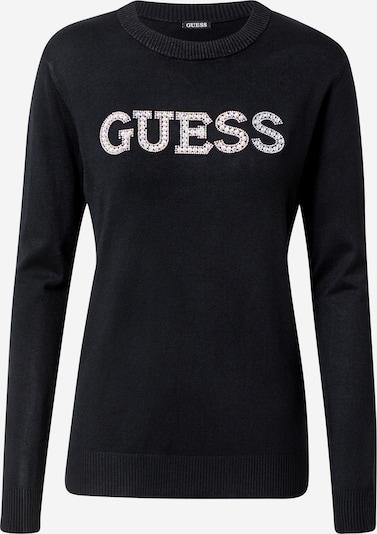 GUESS Pullover 'Elvira' in schwarz / weiß, Produktansicht