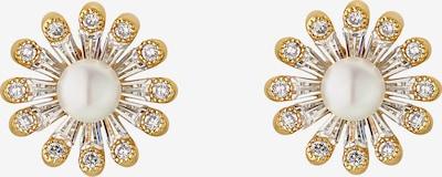 Heideman Ohrringe 'Akela' in gold / silber / weiß, Produktansicht
