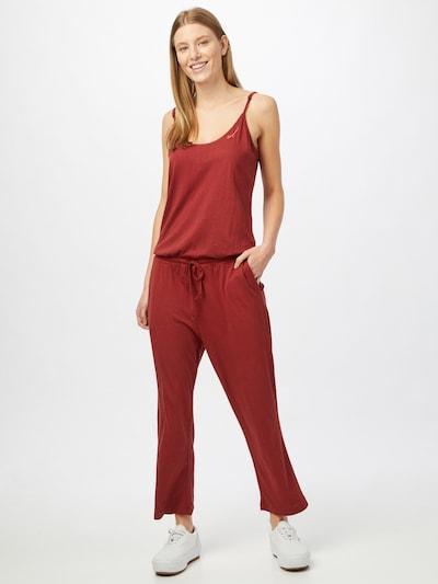 Ragwear Combinaison 'KARAMBA' en rouge rouille, Vue avec modèle