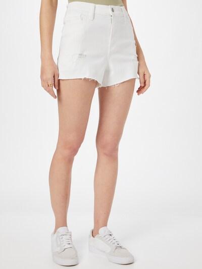Jeans HOLLISTER pe alb, Vizualizare model