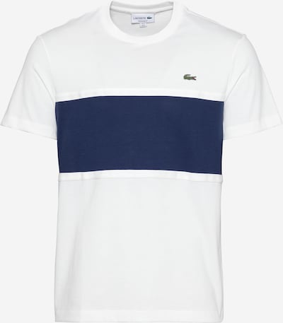 LACOSTE T-Shirt en bleu / blanc, Vue avec produit