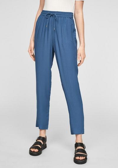 Pantaloni s.Oliver pe albastru, Vizualizare model